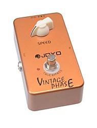 Недорогие -Joyo JF-06 старинных фаза Phaser педаль эффект Гитара гитара верно обхода для музыкального инструмента