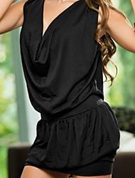 cheap -Hot Girl Low-cut Lycra Sexy Uniform