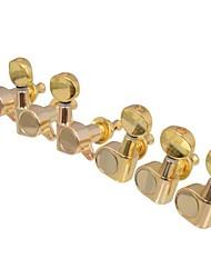 Недорогие -3r3l тюнинг золотой встроенный гитара колышки ключи тюнеры головки машины для народных акустической mu0448 электрогитары