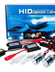 cheap -2pcs H7 Car Light Bulbs 55W 3200lm HID Xenon Headlamp For GreatWall / BMW / Ford