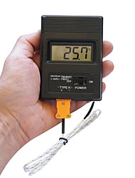"Недорогие -Портативный 2 ""экран цифровой ЖК-термометр Thermodetector метр -50 ° C-1300 ° (аккумулятор 1 х 9В) C"