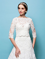 cheap -Capelets Lace Wedding / Party Evening Wedding  Wraps With