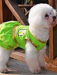 cheap -Cat Dog Dress Dog Clothes Yellow Green Costume Cotton Cosplay Wedding S M L XL