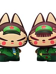 cheap -Action Figure Novelty Cat Silica Gel PVC(PolyVinyl Chloride) Boys' Girls' Toy Gift