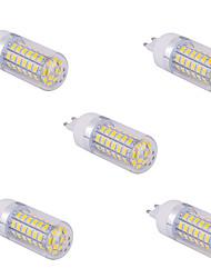 cheap -YWXLIGHT® 5pcs 10 W LED Corn Lights 1500 lm G9 T 60 LED Beads SMD 5730 Warm White Cold White 220 V 110 V / 5 pcs
