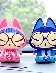 Недорогие -zhuaimao фигурку игрушки для творческого дара домой украшение автомобиля орнамент автомобиль вводя в моду подарок на день рождения для подруги (2шт)