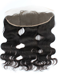 cheap -PANSY Classic Body Wave Lace Front Swiss Lace Human Hair Free Part Middle Part 3 Part High Quality Daily