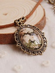 cheap -Fashion New Cute Summer Flowers Long Necklace