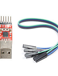 cheap -CP2102 USB to TTL Converter Module for (For Arduino) (Works with Official (For Arduino) Boards)