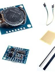 Недорогие -i2c DS1307 Модуль часов реального времени крошечная RTC 2560 ООН R3 и аксессуары для Arduino