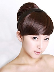 cheap -new special hair hoop wig bang modified face