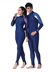 cheap -Dive&Sail Men's Women's Rash Guard Dive Skin Suit Swimwear Diving Suit Clothing Suit UV Sun Protection Breathable Ultraviolet Resistant Long Sleeve Swimming Diving Surfing Classic Sexy Fashion Spring