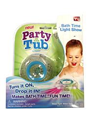 Недорогие -Дети Ванна Смешной свет СИД игрушку партию в ванной сделать время купания веселья, изменив цвет