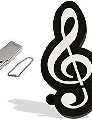 cheap -Ants Music Note USB Flash Drive USB 2.0 64G 8G Musical Instruments Memory Stick Cartoon Plastic Portable Pendrive