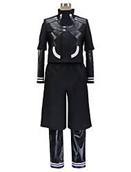 cheap -Inspired by Tokyo Ghoul Ken Kaneki Anime Cosplay Costumes Japanese Cosplay Suits Patchwork Long Sleeve Coat Leotard / Onesie Pants For Men's