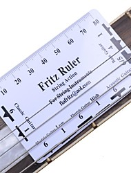 cheap -Guitar String Pitch Ruler Fritz Ruler for Acoustic Electric Guitar