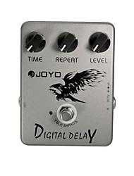 Недорогие -JOYO JF-08 гитара цифровой задержки эффекта педали верно байпас
