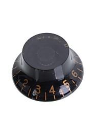 Недорогие -Летающая тарелка стиль черный&белая цифровая электрическая гитара ручки контроля скорости гитара горшок кнопки крышка 50psc / серия