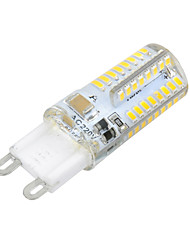 cheap -1pc 3 W 150-250 lm G9 64 LED Beads SMD 3014 Warm White Cold White 220-240 V / 1 pc / CE Certified