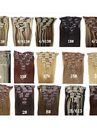 cheap -20 7pcs remy clips in human hair extensions 70g for women s beauty hairsalon in fashion many colours available