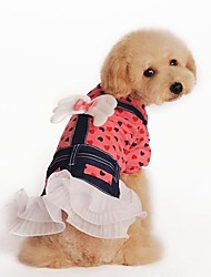 cheap -Cute Clothing Style Skirt with Bowknot for Pets Dogs (Assorted Sizes and Colors)