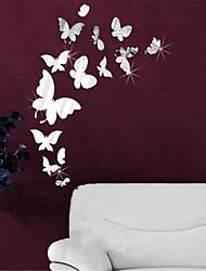 abordables -Animaux 3D Stickers muraux Miroirs Muraux Autocollants Autocollants muraux décoratifs, Vinyle Décoration d'intérieur Calque Mural Mur
