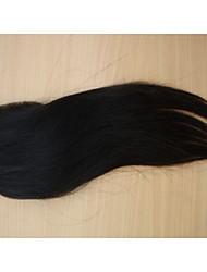 "cheap -18""Brazilian Virgin Hair Closure Free Part Style 3.5""x4"" Straight Natural Colour Hair Pieces Lace Closure 1Pc"