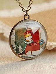 cheap -Fashion New Cute Prince And The Birds Sweater Necklace