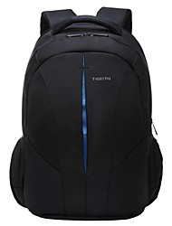 cheap -Tigernu 15.6 Inch Laptop Commuter Backpacks Nylon Solid Color for Business Office for Colleages & Schools for Travel Water Proof Shock Proof with USB Charging Port / Headphones Hole