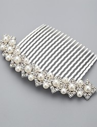 cheap -Imitation Pearl / Rhinestone / Alloy Hair Combs with 1 Wedding / Special Occasion / Casual Headpiece