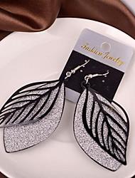 cheap -Women's Drop Earrings Cheap Earrings Jewelry Black / Silver / Golden For Wedding Party Daily Casual
