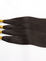 cheap -4Pcs/lot 28inch Raw Brazilian Virgin Hair Natural Black Straight Human Hair Weaving Weft