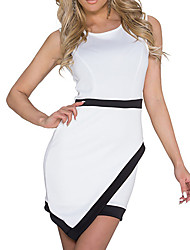 cheap -Elegant Lady Simple Style Night Club Uniform