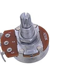 Недорогие -a250k короткое валом разделения 15mm гитара горшки потенциометра гитара часть полный размер 20шт / много