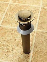 cheap -Faucet accessory - Superior Quality - Vintage Brass Pop-up Water Drain With Overflow - Finish - Antique Brass