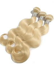 """cheap -3Pcs/Lot 12"""" Brazilian Hair Bundles blonde hair(613#)Body Wave Human Hair Weaving"""