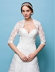 cheap -Shrugs Lace Wedding / Party Evening Wedding  Wraps With