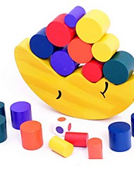 cheap -Wood Moon Balancing Game Educational Toy