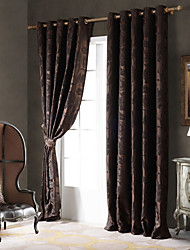 cheap -Ready Made Blackout Blackout Curtains Drapes One Panel/ Bedroom