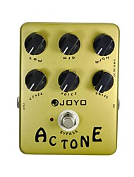 Недорогие -Joyo JF-13 AC тон голос усилитель симулятор гитары педаль эффект Guitarra части верно байпаса