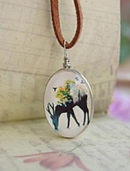 cheap -Fashion New Cute Animals Design Long Necklace