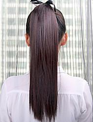 cheap -Synthetic Hair Hair Piece Hair Extension Straight