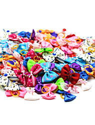 cheap -Cat Dog Hair Accessories Hair Bow Dog Clothes Random Color Costume Girls' Terylene Bowknot Holiday