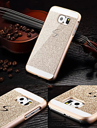 cheap -Case For Samsung Galaxy S6 Pattern Back Cover Glitter Shine PC