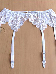 cheap -Lace / Polyester Fashion Wedding Garter With Lace Garters