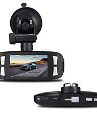 Недорогие -h200 1080p / Full HD 1920 x 1080 Full HD / HD Автомобильный видеорегистратор 120° Широкий угол 5.0 Мп КМОП 2.7 дюймовый LCD Капюшон с
