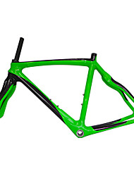 cheap -Neasty Brand 700C Full Carbon Fiber Frame and Fork Green Color Painted 48/50/52/56CM