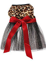 cheap -Cat Dog Dress Dog Clothes Brown Costume Terylene Animal Wedding XS S M L XL