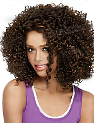 cheap -short synthetic wigs curly wig for african american black women curly wigs