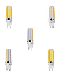 cheap -5pcs 10 W LED Corn Lights 1000 lm G9 T 152 LED Beads SMD 3014 Dimmable Warm White Cold White 220-240 V / 5 pcs